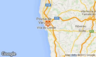 Kaart Vila do Conde Chalet 101366