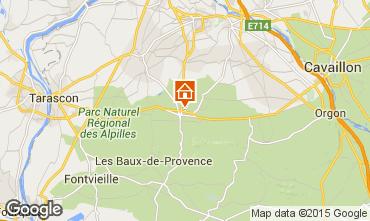 Kaart Saint Rémy de Provence Huis 90715