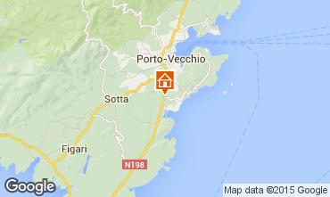 Kaart Porto Vecchio Villa 37508