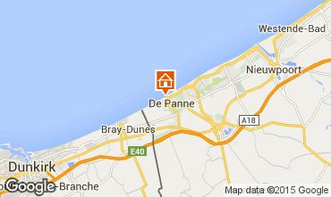 Kaart De Panne Studio 62848
