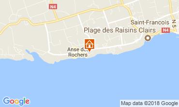 Kaart Saint Francois Appartement 113829
