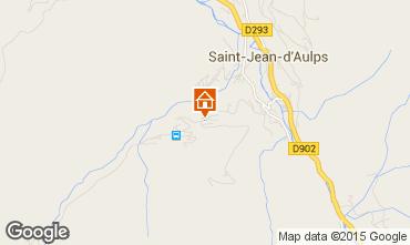Kaart Saint Jean d'Aulps- La Grande Terche Appartement 48953