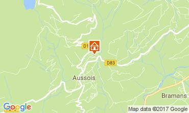 Kaart Aussois Appartement 111664