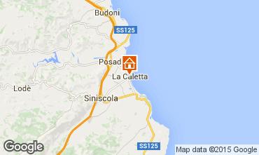 Kaart La Caletta Appartement 18017