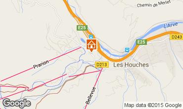 Kaart Les Houches Studio 62468
