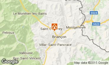 Kaart Briançon Appartement 80698