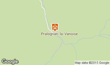 Kaart Pralognan la Vanoise Appartement 89173