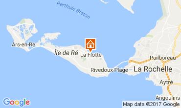 Kaart La Flotte en Ré Villa 107831