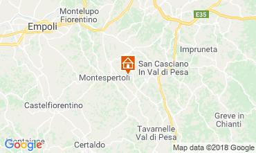 Kaart Montespertoli Bungalow 115969
