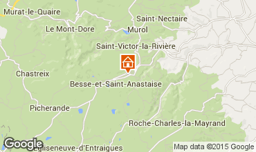 Kaart Besse et Saint Anastaise Chalet 3837