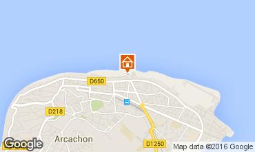 Kaart Arcachon Appartement 102981