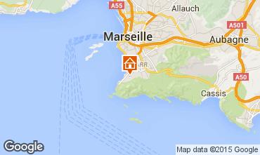 Kaart Marseille Appartement 18588