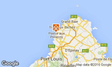 Kaart Pointe Aux Piments Appartement 48721