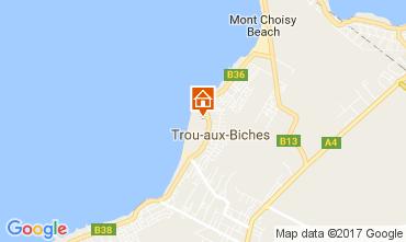 Kaart Trou-aux-biches Villa 100486