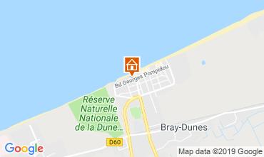 Kaart Bray-Dunes Appartement 112194