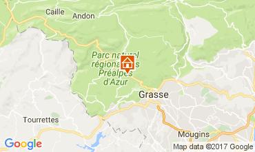 Kaart Grasse Villa 108424