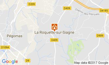 Kaart La Roquette-sur-Siagne Appartement 110753