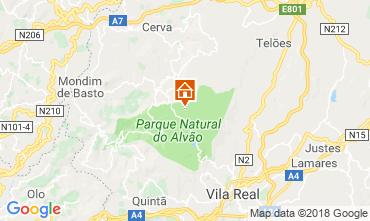 Kaart Vila Real Vakantiehuis 114765