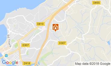 Kaart Saint Jean de Luz Appartement 114633