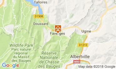 Kaart Annecy Appartement 115485