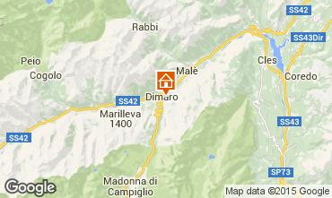 Kaart Dimaro Appartement 74973