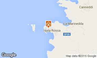 Kaart Isola Rossa Appartement 102560