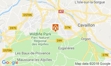 Kaart Saint Rémy de Provence Vakantiehuis 98340