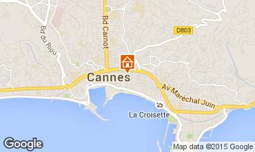 Kaart Cannes Studio 33342