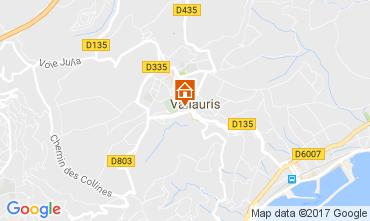 Kaart Cannes Appartement 109755