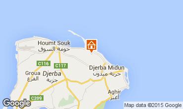 Kaart Djerba Villa 78118