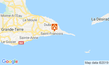 Kaart Saint Francois Appartement 119832