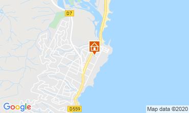 Kaart Fréjus Appartement 107365