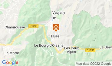 Kaart Alpe d'Huez Appartement 82325