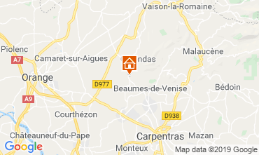 Kaart Vaison la Romaine Appartement 119300