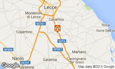 Kaart Lecce Appartement 57535