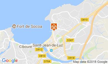 Kaart Saint Jean de Luz Appartement 113335