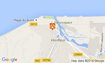 Kaart Honfleur Appartement 103796