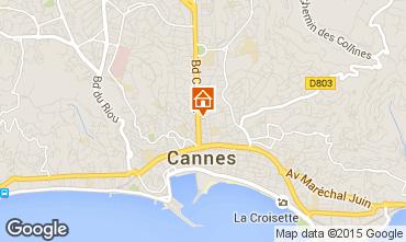Kaart Cannes Appartement 97806