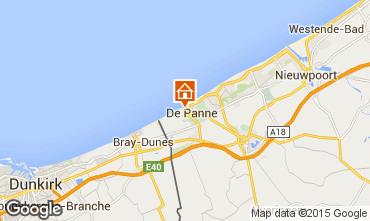 Kaart De Panne Studio 28374