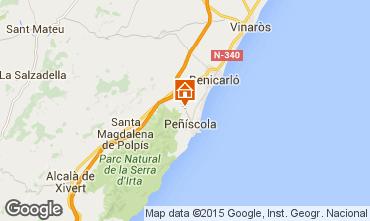 Kaart Peñíscola Villa 74608