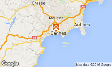 Kaart Cannes Appartement 100323