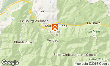 Kaart Les 2 Alpes Appartement 49434