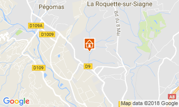 Kaart Mandelieu la Napoule Huis 112877