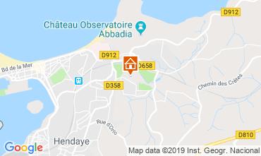 Kaart Hendaye Appartement 108148
