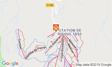 Kaart Risoul 1850 Appartement 112131