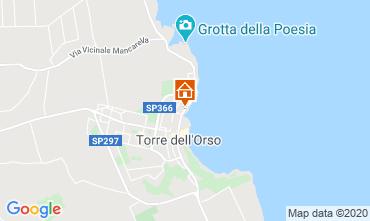 Kaart San Foca Appartement 118770