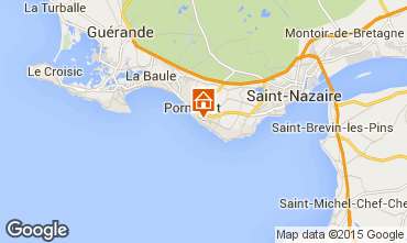 Kaart La Baule Villa 7228