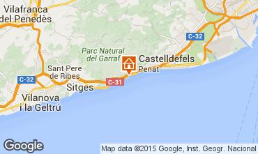 Kaart Barcelona Villa 95047