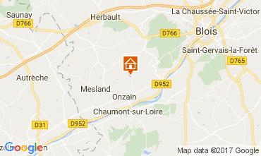 Kaart Blois Stacaravan 102122