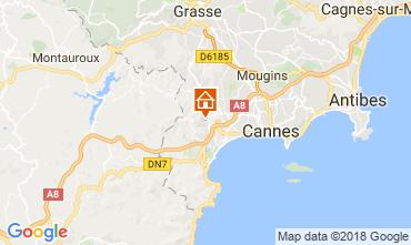 Kaart Cannes Villa 114638
